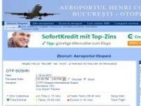 Aeroportul International Henri Coanda, Bucuresti, Otopeni - Plecari si sosiri - www.aeroportul-otopeni.info