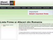 Afaceri Romania, Portal afacer, Oferte reduceri - www.afaceriromania.ro