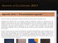 Agende 2013 - www.agende-2013.ro