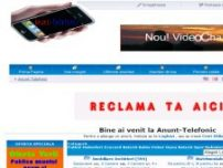 Anunt-Telefonic - www.anunt-telefonic.ro