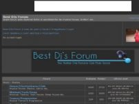 Best Djs Forum - bestdjs.3xforum.ro
