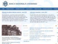 Banca Nationala a Romaniei - www.bnr.ro