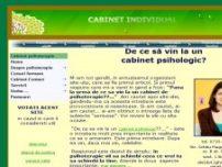 Cabinet psihologic, psihoterapie, psihologie Bucuresti sector 1 - www.cabinetpsihologic.eu
