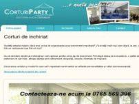 Inchirieri corturi,mese,scaune,vesela,baloane - www.corturiparty.ro
