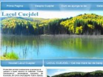 Lacul Cuejdel - www.cuejdel.ro