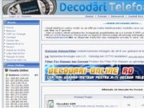 Decodari telefoane mobile - www.decodari.info