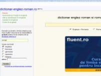 Dictionar englez roman online - www.dictionar-englez-roman.ro
