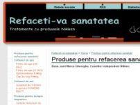 Produse pentru refacerea sanatatii - Refaceti-va sanatatea - e-sanatate.wgz.ro