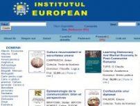 Editura Institutul European Iasi – libraria virtuala - www.euroinst.ro