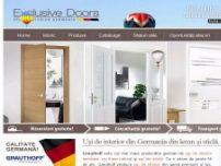 Usi de interior din Germania din lemn si sticla, usi metalice Israel - www.exclusivedoors.ro