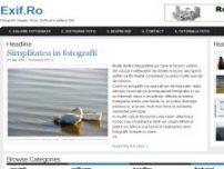 Fotografii, Imagini, Poze, Software, Noutati, Stiri, Galerie Foto, Tutoriale - www.exif.ro