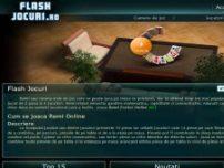 Remi online pe Flash-jocuri.ro - www.flash-jocuri.ro