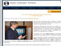Global Certification Romania - Certificare, Inspectie, Instruire - www.globalcertification.ro