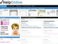 Portal: Director web, Catalog firme, Anunturi, Articole, Divertisment - www.helponline.ro