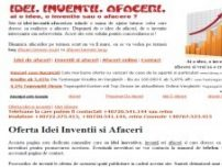 Idei, inventii si afaceri - www.idei-inventii-afaceri.ro