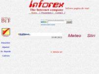 Vremea, prognoza meteo, timpul probabil, starea vremii, imagini din satelit, web - inforex.com.ro