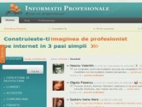 Informatii Profesionale Despre Tine - www.informatiiprofesionale.ro