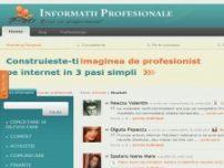 Informatii Profesionale Despre Tine - www.informatiiprofesionale.ro