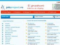 Locuri de munca online - www.jobproject.ro
