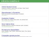 Librarie Online - Carti de care ai nevoie! - Librarie Virtuala - www.libraria-noastra.ro