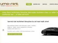 Inchiriere limousine Mercedes S, E-class, Viano cu sofer - www.limo-rent.ro