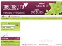 MedMag Magazin on-line de produse pentru monitorizarea si ingrijirea sanatatii - www.medmag.ro