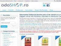 Odorizante auto si de camera California Scents acum si online in magazinul onlin - www.odoshop.ro