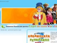 PETRECERI COPII Braila, Galati, Buzau, Focsani clown - www.petreceri-fermecate.ro