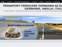 Transport Persoane Germania Romania - www.plecariinternationale.ro