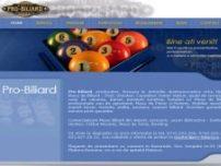 Pro-Biliard - www.pro-biliard.ro