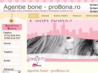 Agentie de bone - www.probona.ro