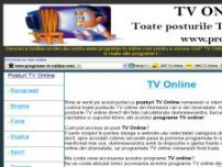 Programe TV - www.programe-tv-online.com