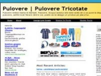 Pulovere Tricotate - www.pulovere.info