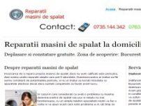 Reparatii masini de spalat - www.reparatiimasinidespalat.org