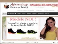 Agressione  - Incaltaminte de dama: pantofi, ghete, cizme, sandale - www.rialto.ro