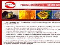 S.C. Rombas - producator si distribuitor al uleiurilor brute, rafinate din floarea soarelui - www.rombas.ro