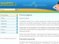 Spondilita anchilozanta - www.spondilita-anchilozanta.ro