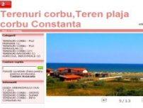 Terenuri Corbu, Teren Plaja Corbu, Constanta - www.terenuri-corbu.ro