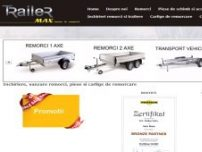 Remorci piese carlige - www.trailermax.ro