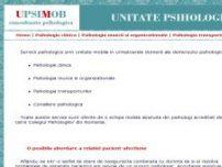 Unitate Psihologica Mobila - Consultanta psihologica - www.unitatepsihologicamobila.ro