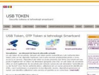 USB Token, OTP Token si tehnologii Smartcard - www.usbtoken.ro