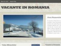 Descopera Romania - www.vacante-romania.info