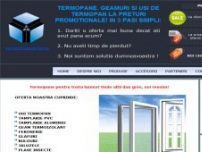 Termopane. Geamuri si usi termopan din PVC si aluminiu in Bucuresti si in tara - www.windoordesign.ro