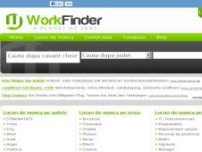 Work finder - www.workfinder.ro