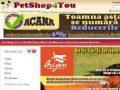 Petshop on line ce va scapa de grija pentru hrana blanosului d-voastra - www.petshop4you.ro